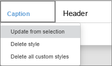 Content Control settings window