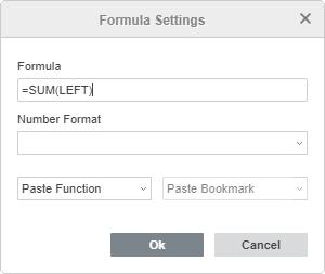 Inserire una formula