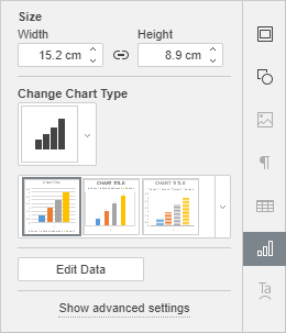 Chart tab