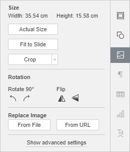 Image Settings tab
