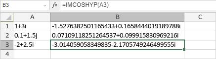 IMCOSHYP-Funktion