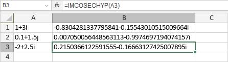 IMCOSECHYP-Funktion
