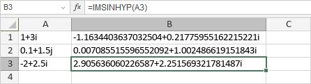 IMSINHYP-Funktion