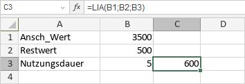 LIA-Funktion