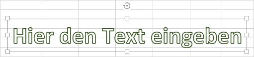Markiertes Textfeld