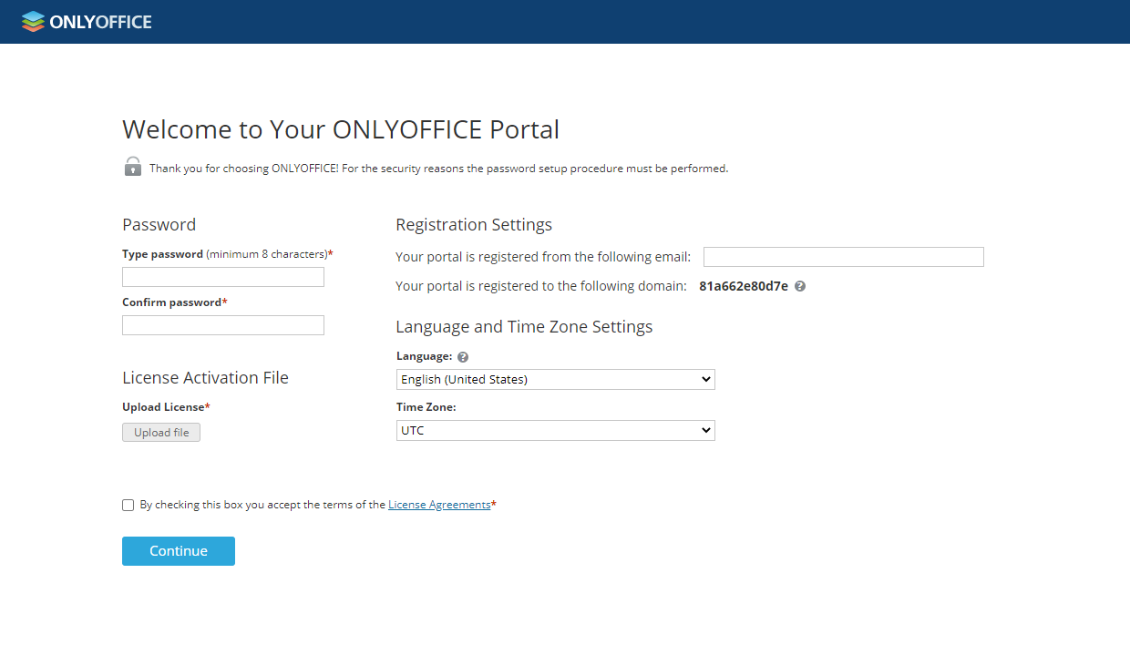 How to deploy ONLYOFFICE Workspace Enterprise Edition for Windows on a local server? Step 4